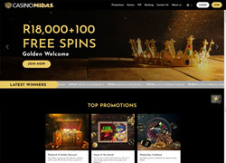 Casino Midas Main Screenshot