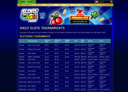 SlotoCash Tournaments Screenshot