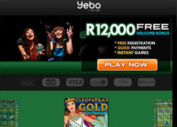 Yebo Casino Mobile Screenshot