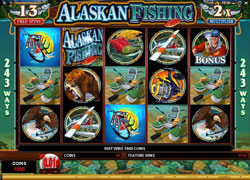 Alaskan Fishing Free Spins Screenshot