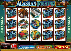 Alaskan Fishing Main Screenshot