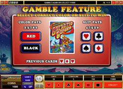 Galactic Gopher Gamble Feature Screenshot