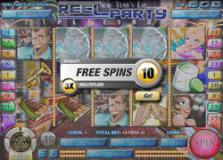 Reel Party Platinum Free Spins Screenshot